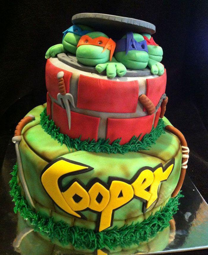 Best ideas about Turtle Birthday Cake . Save or Pin Yummy Teenage Mutant Ninja Turtle Cake Ideas Ninja Turtle Now.