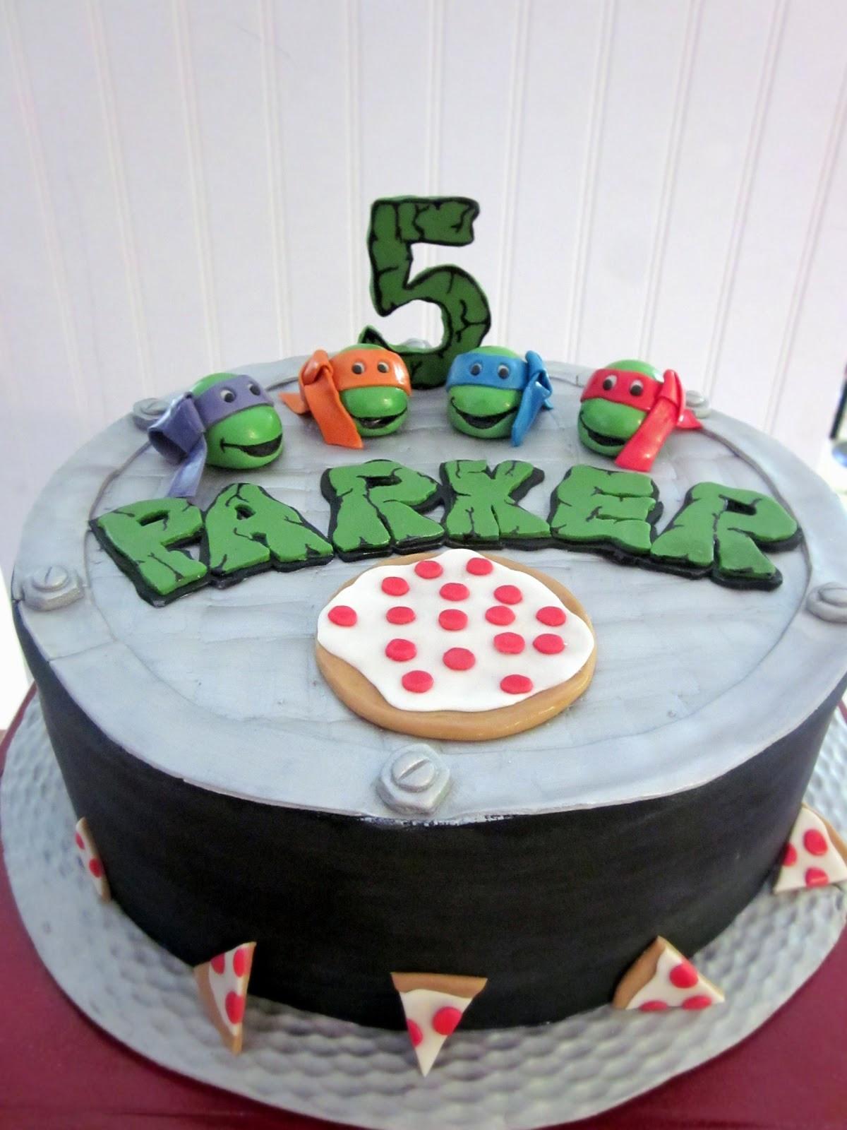 Best ideas about Turtle Birthday Cake . Save or Pin Darlin Designs Teenage Mutant Ninja Turtle Birthday Cake Now.