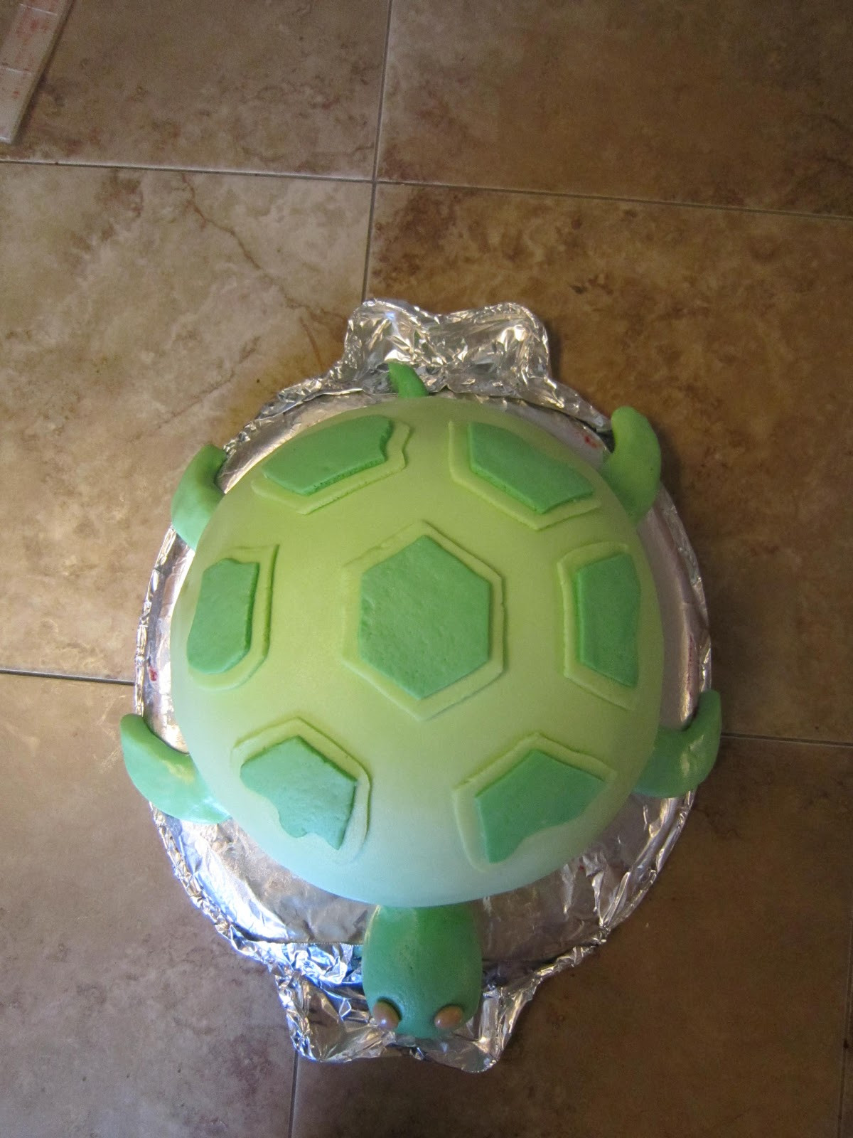 Best ideas about Turtle Birthday Cake . Save or Pin Our Life Turtle birthday cake Now.