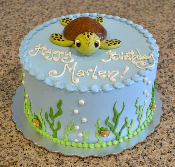 Best ideas about Turtle Birthday Cake . Save or Pin sea turtle birthday cake Cakes designs Now.