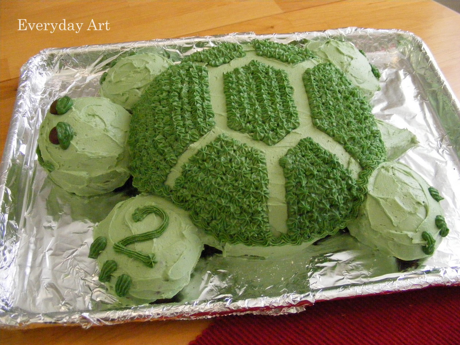 Best ideas about Turtle Birthday Cake . Save or Pin Everyday Art Turtle Birthday Cake Now.