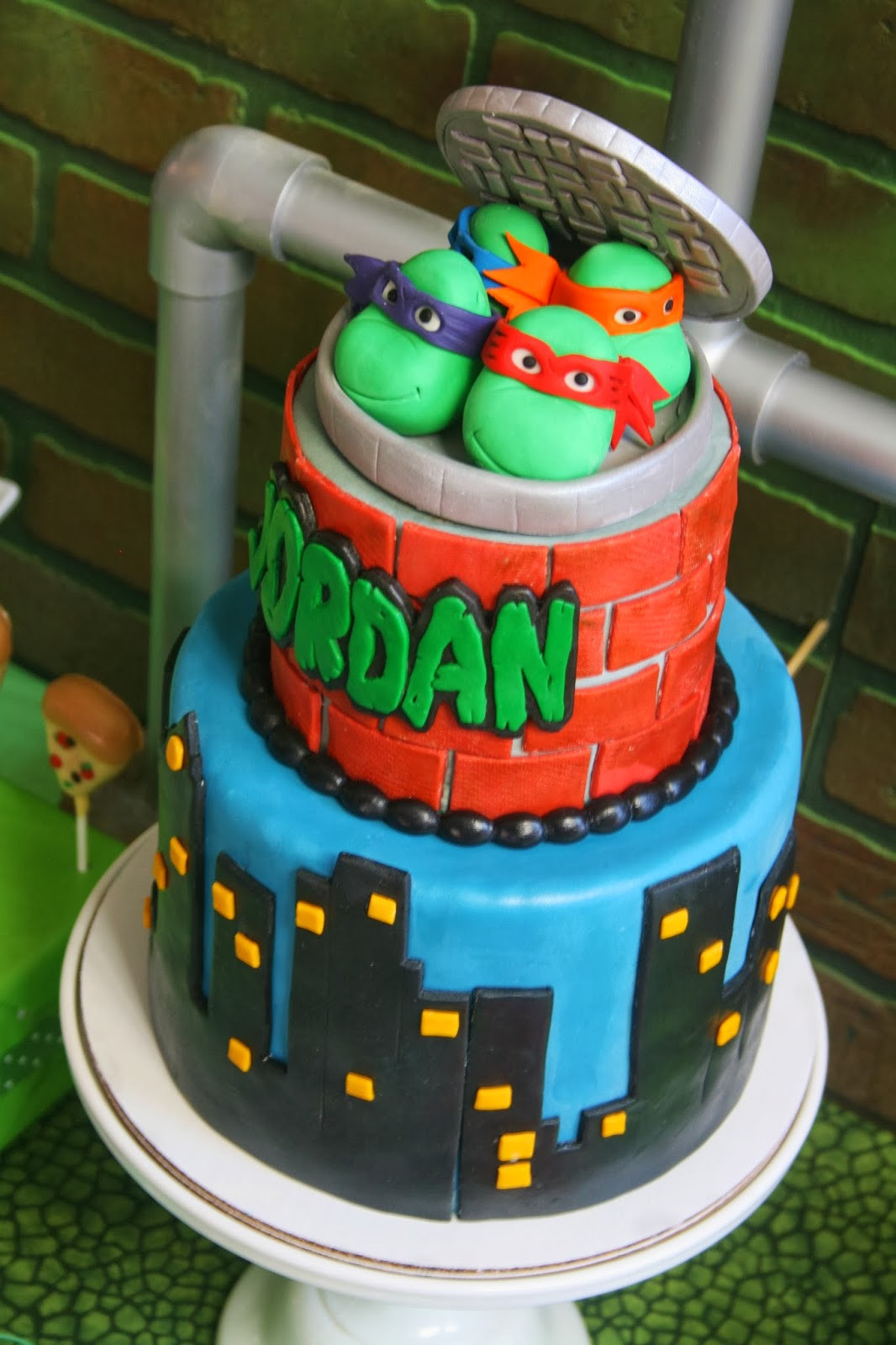 Best ideas about Turtle Birthday Cake . Save or Pin And Everything Sweet Teenage Mutant Ninja Turtle Now.