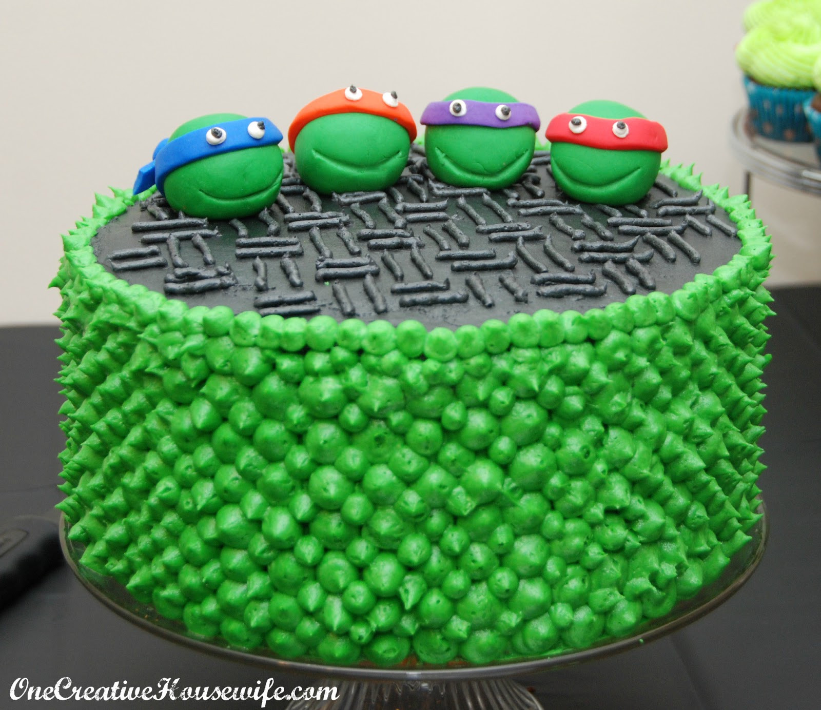 Best ideas about Turtle Birthday Cake . Save or Pin e Creative Housewife Teenage Mutant Ninja Turtle Party Now.