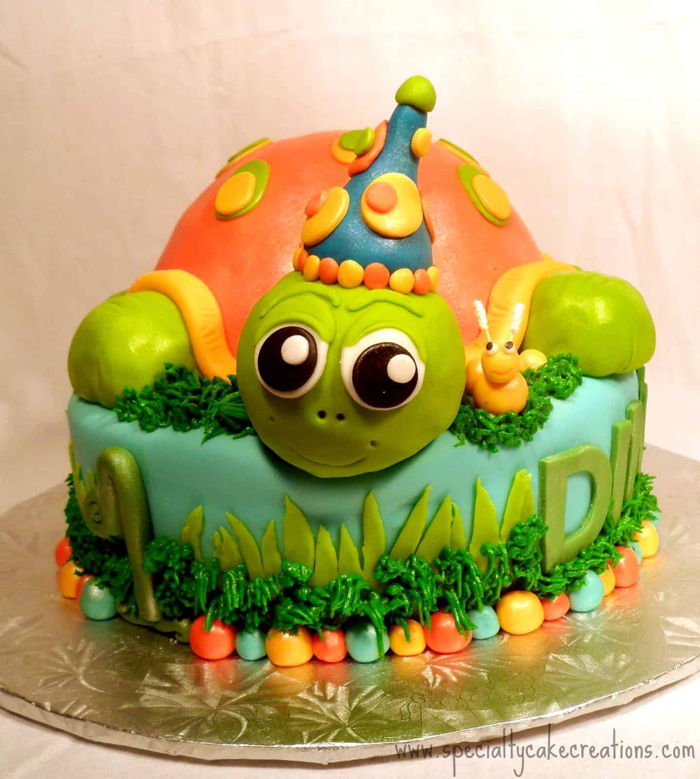 Best ideas about Turtle Birthday Cake . Save or Pin Specialty Turtle Cake Now.