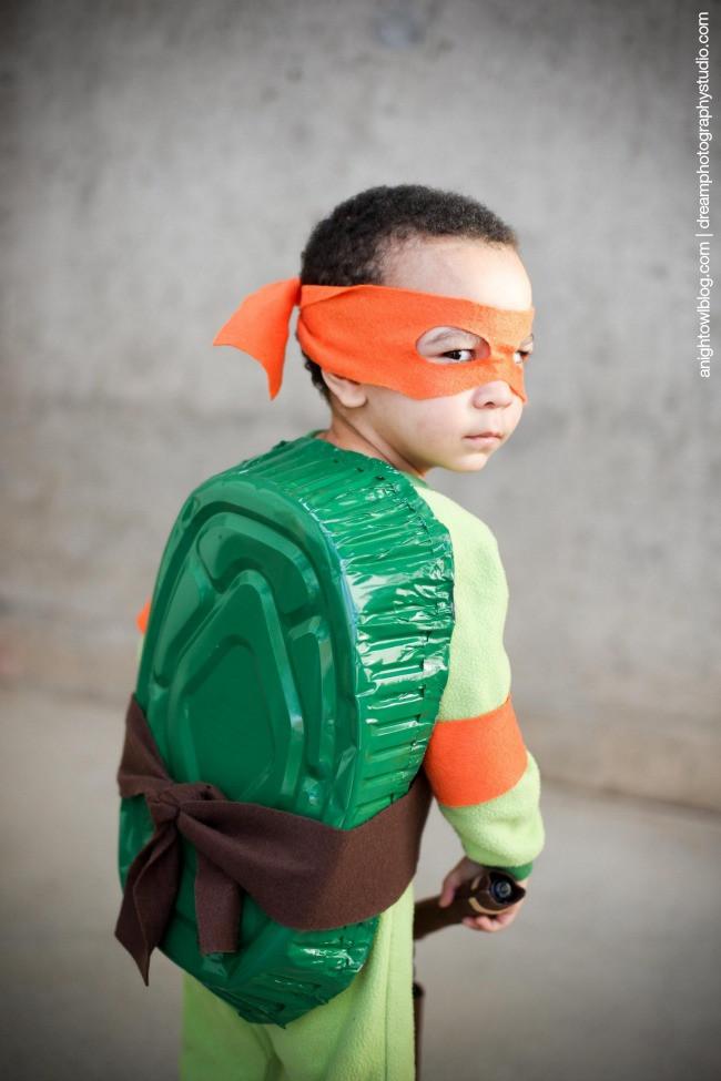 Best ideas about Turtle Costume DIY . Save or Pin Easy Teenage Mutant Ninja Turtle Costume Now.
