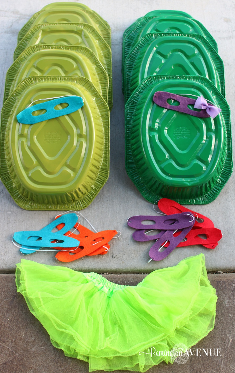 Best ideas about Turtle Costume DIY . Save or Pin Thrifty Teenage Mutant Ninja Turtle Costumes Remington Now.
