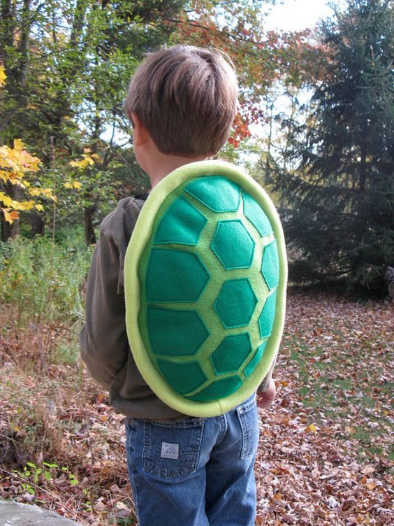 Best ideas about Turtle Costume DIY . Save or Pin Green Turtle Shell Costume for Children Now.