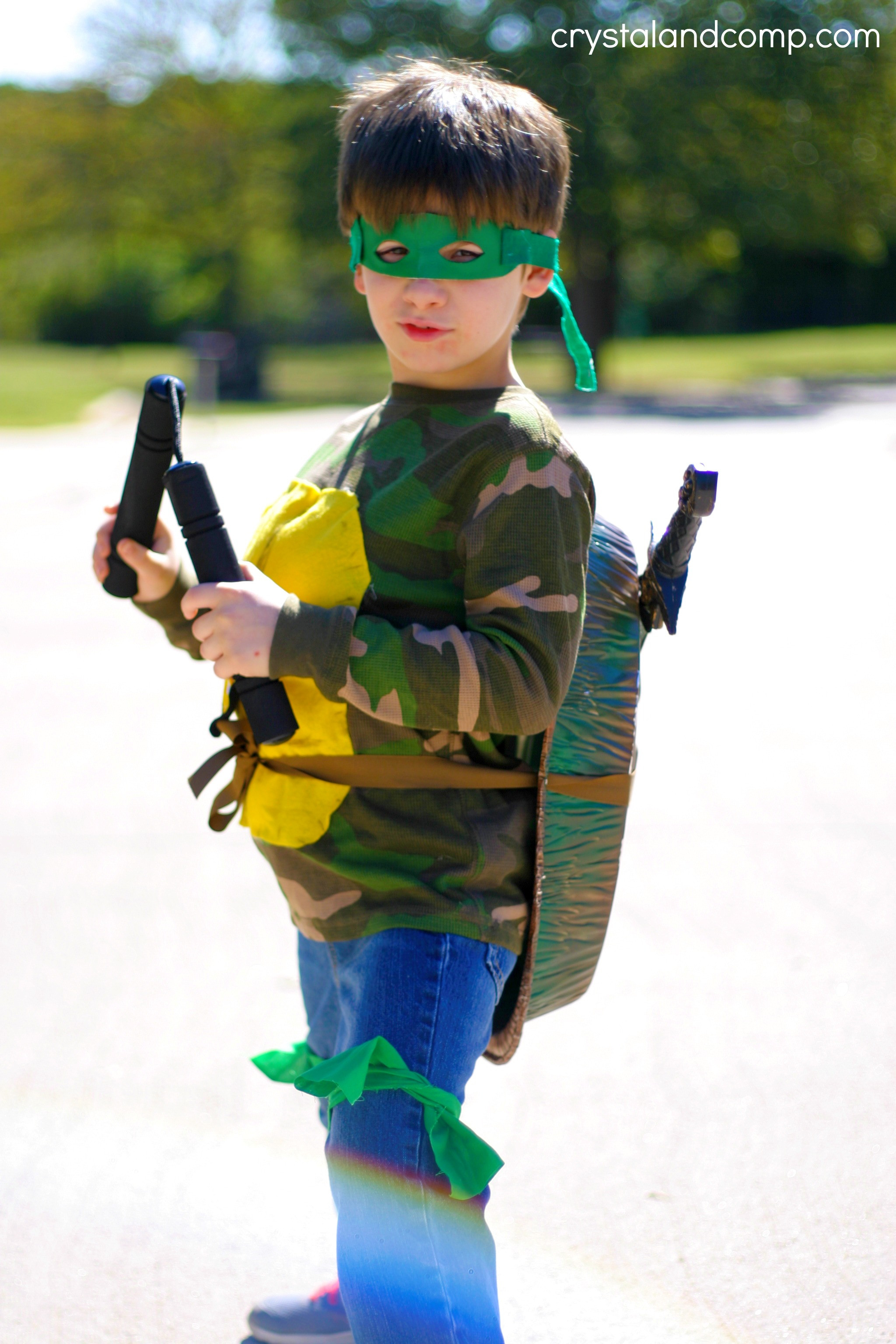 Best ideas about Turtle Costume DIY . Save or Pin DIY Ninja Turtle Costume Now.
