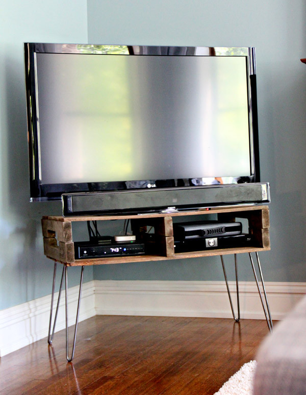 Best ideas about Tv Stand DIY . Save or Pin 13 DIY Plans for Building a TV Stand Now.