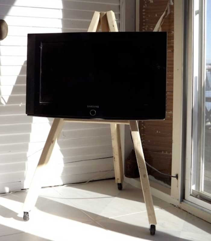 Best ideas about Tv Stand DIY . Save or Pin 21 DIY TV Stand Ideas for Your Weekend Home Project Now.