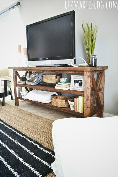 Best ideas about Tv Stand DIY . Save or Pin DIY TV Stand Now.