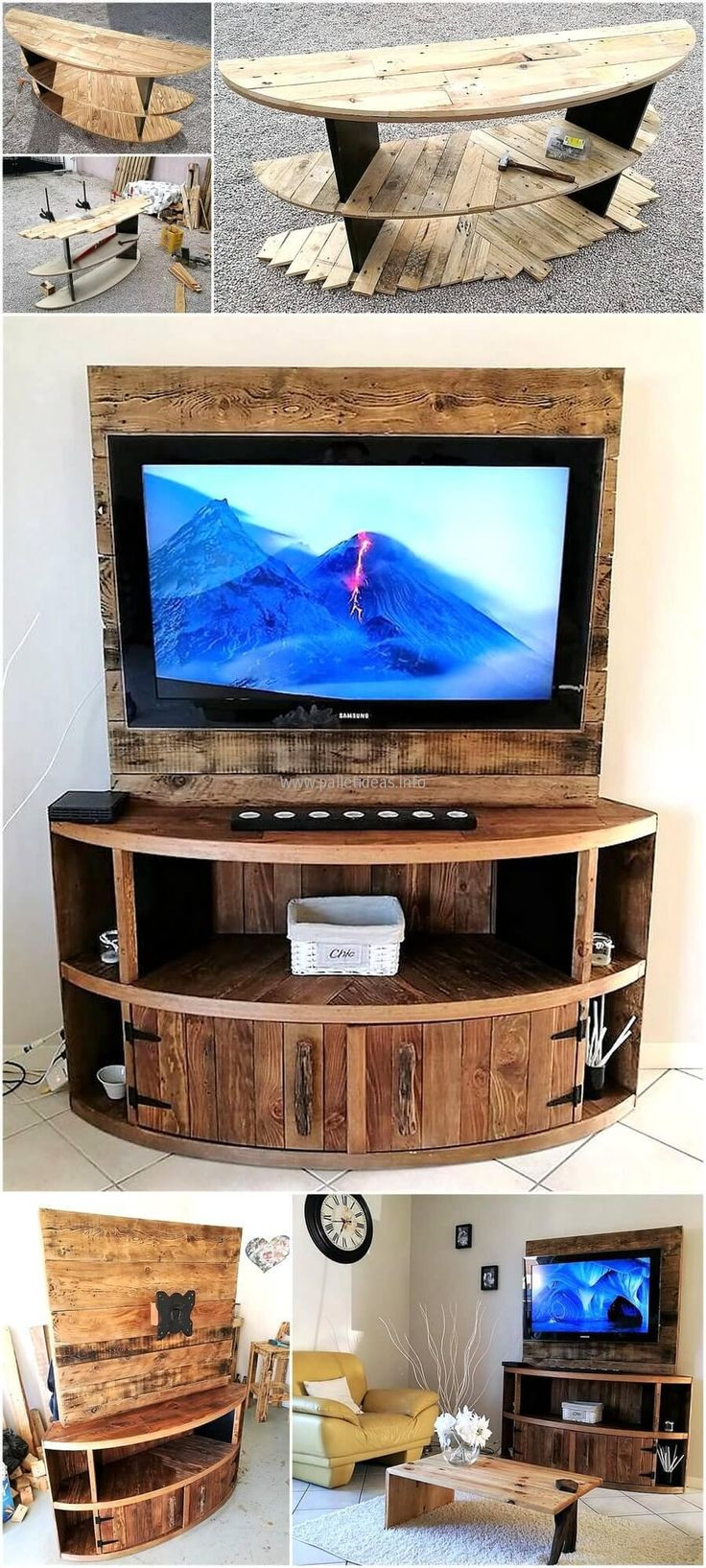 Best ideas about Tv Stand DIY . Save or Pin Best 25 Pallet tv stands ideas on Pinterest Now.