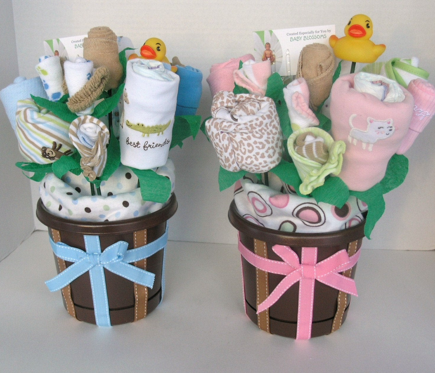 Best ideas about Twin Baby Gift Ideas . Save or Pin Twin Baby Gift Bouquets Made to Order Now.