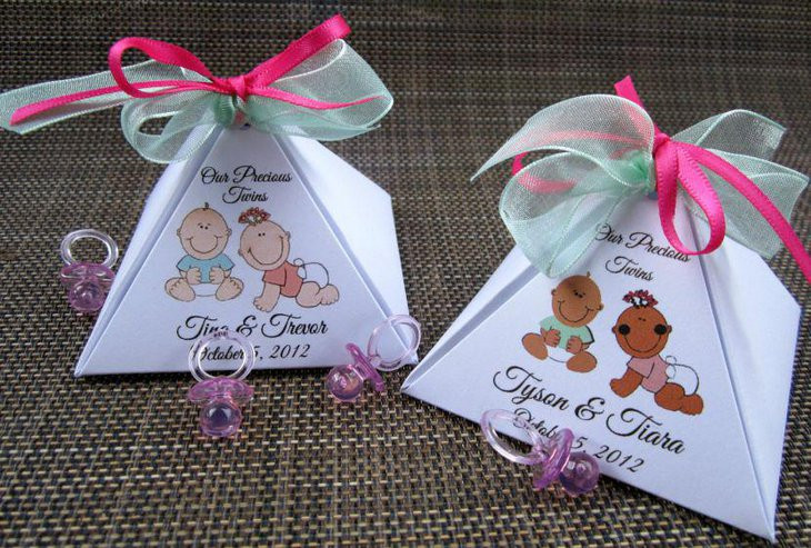 Best ideas about Twin Baby Shower Gift Ideas . Save or Pin 33 Baby Shower Ideas For Twins Twin Baby Shower Themes Now.