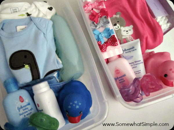 Best ideas about Twin Baby Shower Gift Ideas . Save or Pin Baby Shower Gift for Twins Somewhat Simple Now.