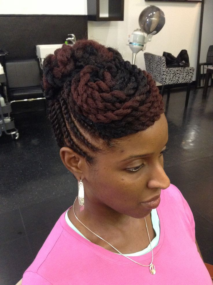Best ideas about Twist Hairstyle For Natural Hair . Save or Pin 26 best dariathecurlartist Natural Hair Portfolio images Now.