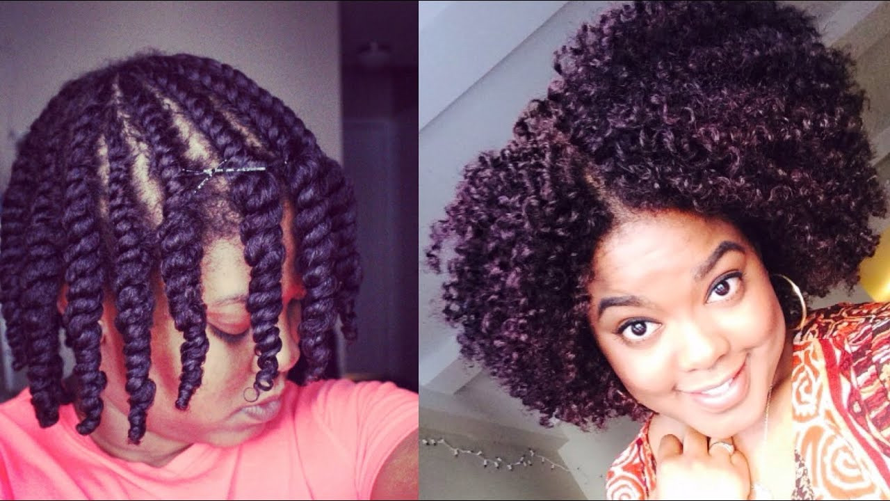 Best ideas about Twist Hairstyle For Natural Hair . Save or Pin Natural Hair Now.