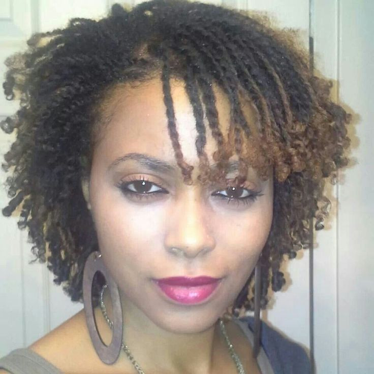 Best ideas about Twist Hairstyle For Natural Hair . Save or Pin Twists Rods used to curl the ends Hair Now.
