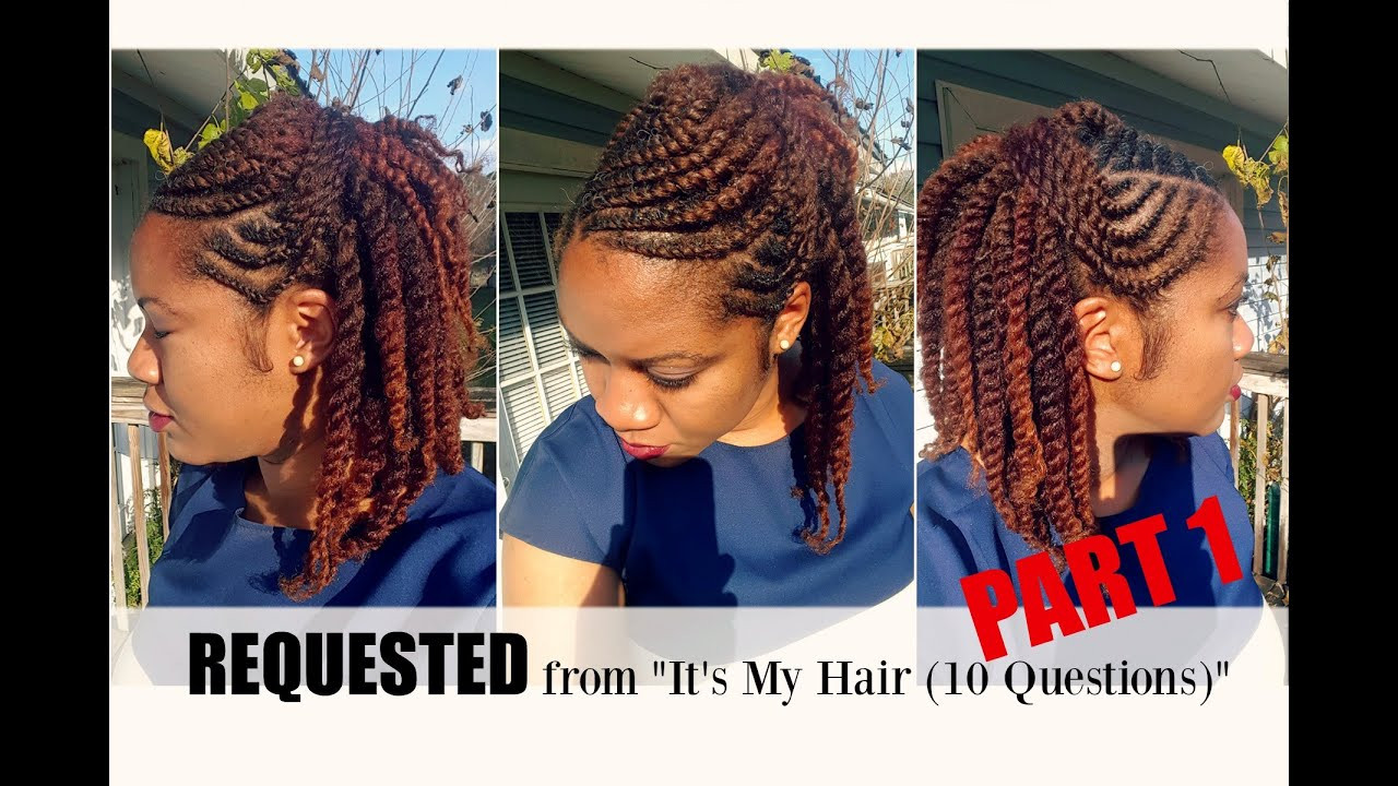 Best ideas about Twist Hairstyle For Natural Hair . Save or Pin Flat Twist Hairstyles on Natural Hair Part 1 Now.
