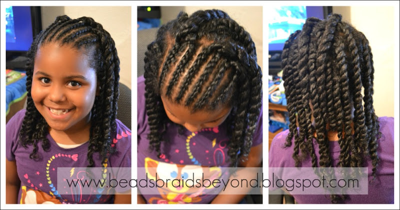 Best ideas about Twisty Hairstyles For Girls . Save or Pin Black Hairstyle Braids Now.
