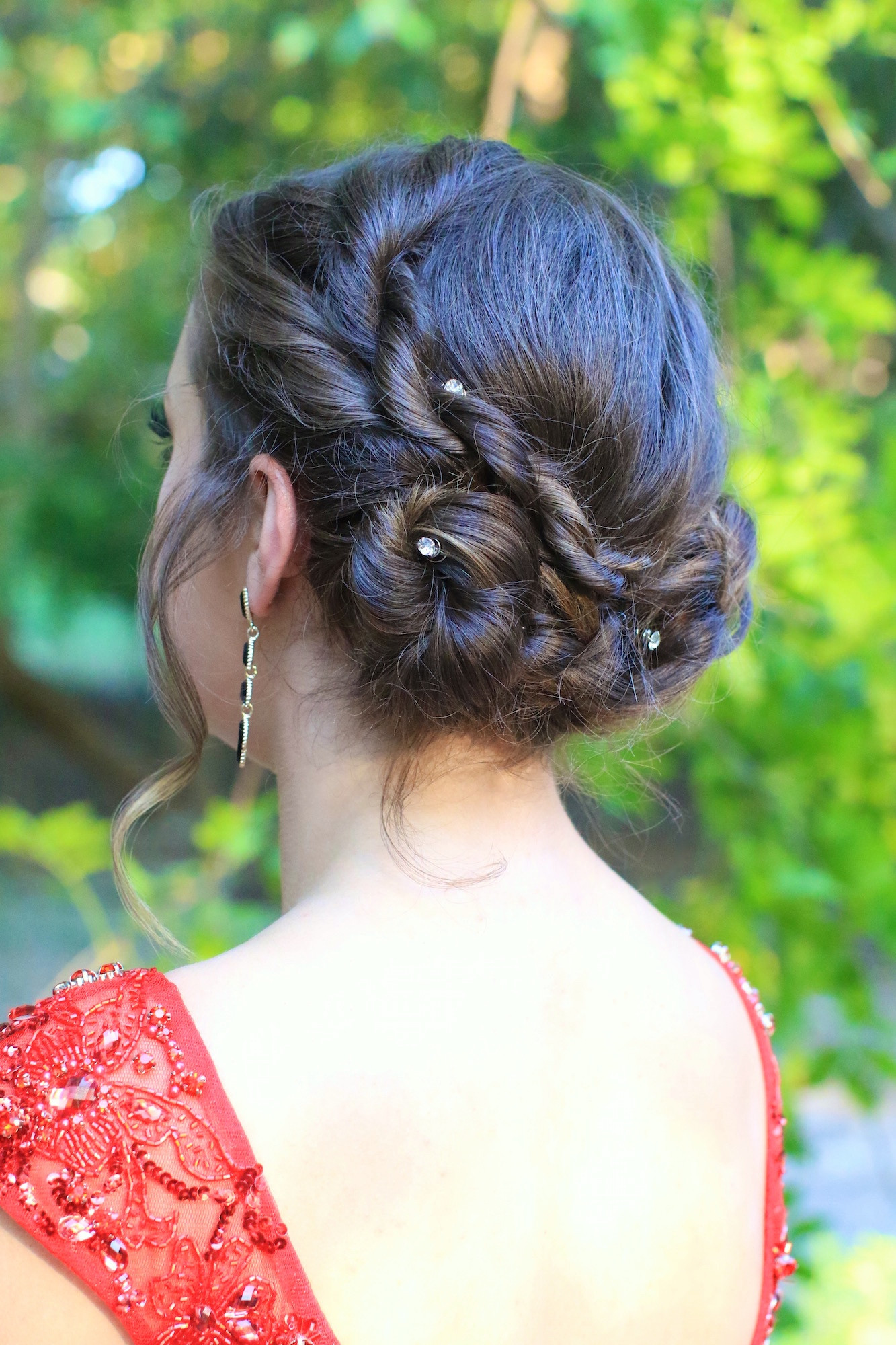 Best ideas about Twisty Hairstyles For Girls . Save or Pin Rope Twist Updo Home ing Hairstyles Now.