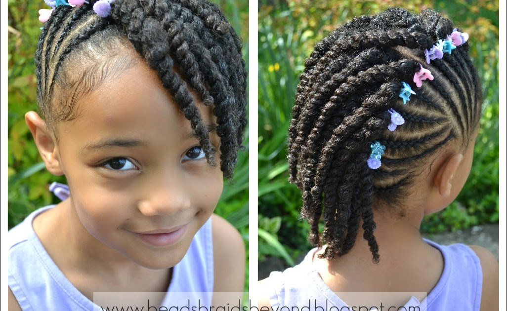 Best ideas about Twisty Hairstyles For Girls . Save or Pin Side Cornrows with Two Strand Twists Now.