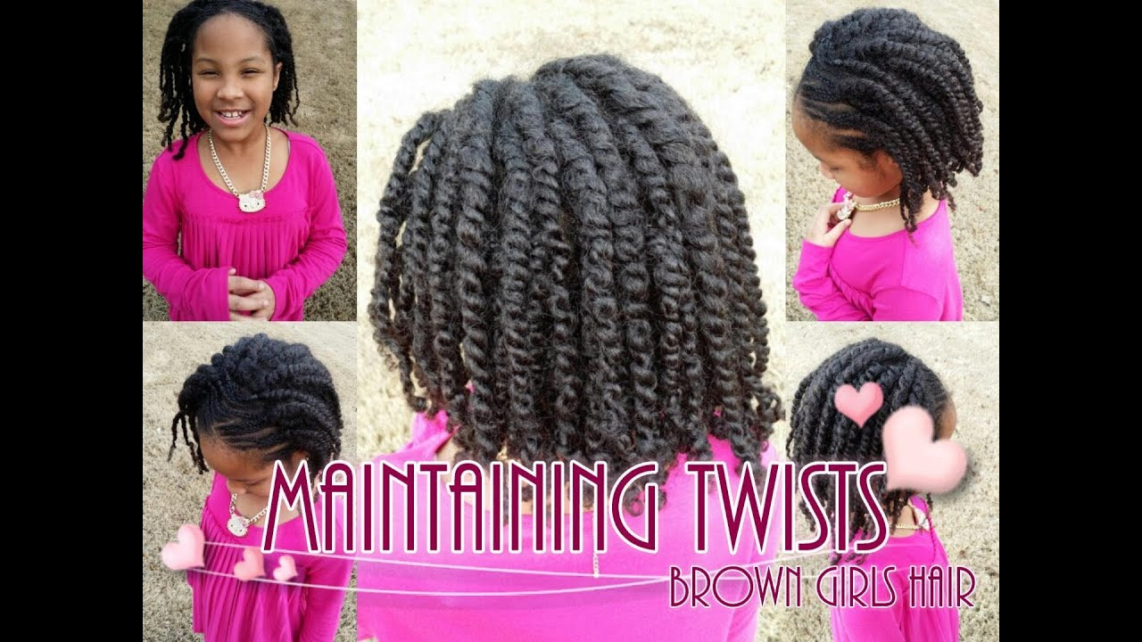 Best ideas about Twisty Hairstyles For Girls . Save or Pin How To Maintain Twists on Natural Girls Hair Now.