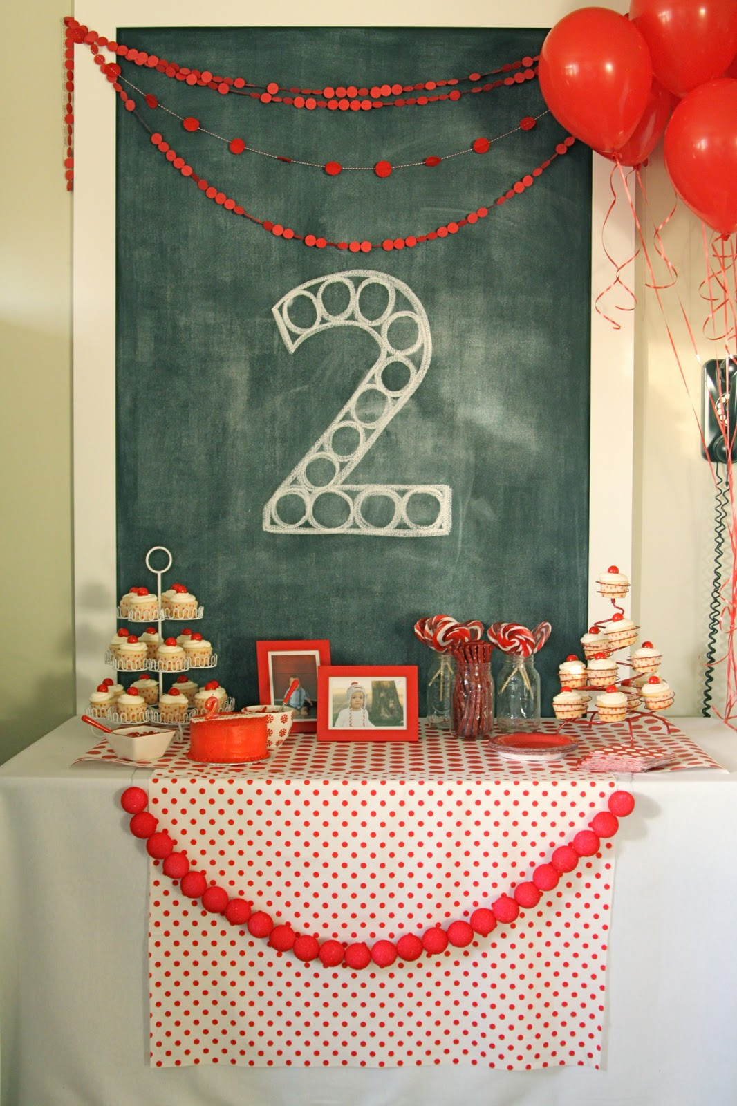 Best ideas about Two Yr Old Birthday Party Ideas . Save or Pin red ball party levi's second birthday The Macs Now.