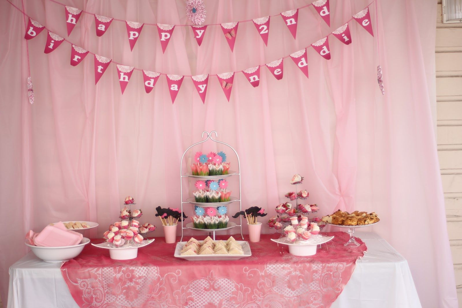 Best ideas about Two Yr Old Birthday Party Ideas . Save or Pin Girls Tea Party Sandwiches Now.