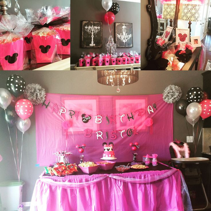 Best ideas about Two Yr Old Birthday Party Ideas . Save or Pin Our Minnie Mouse Birthday for our sweet 2 year old Now.