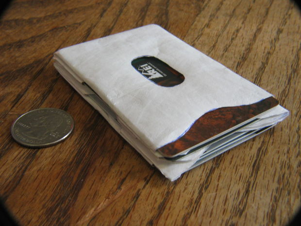 Best ideas about Tyvek Wallet DIY . Save or Pin Super Thin Tyvek Card Sleeve Wallet Now.