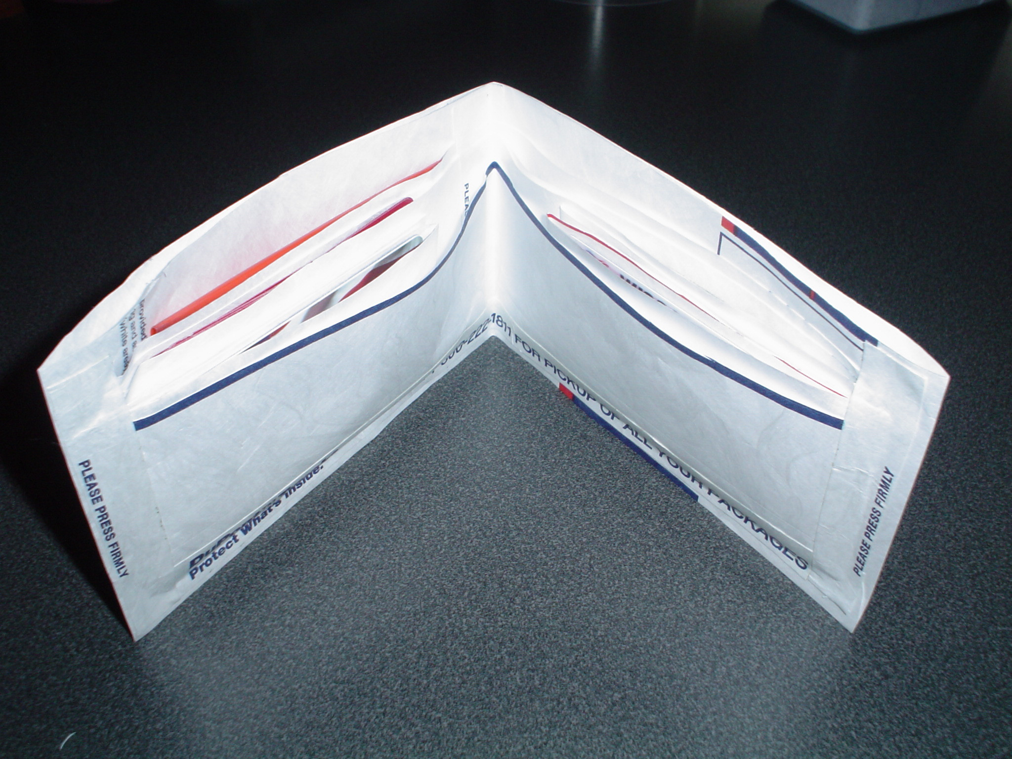 Best ideas about Tyvek Wallet DIY . Save or Pin Wallet made from Tyvek mailing envelope Now.
