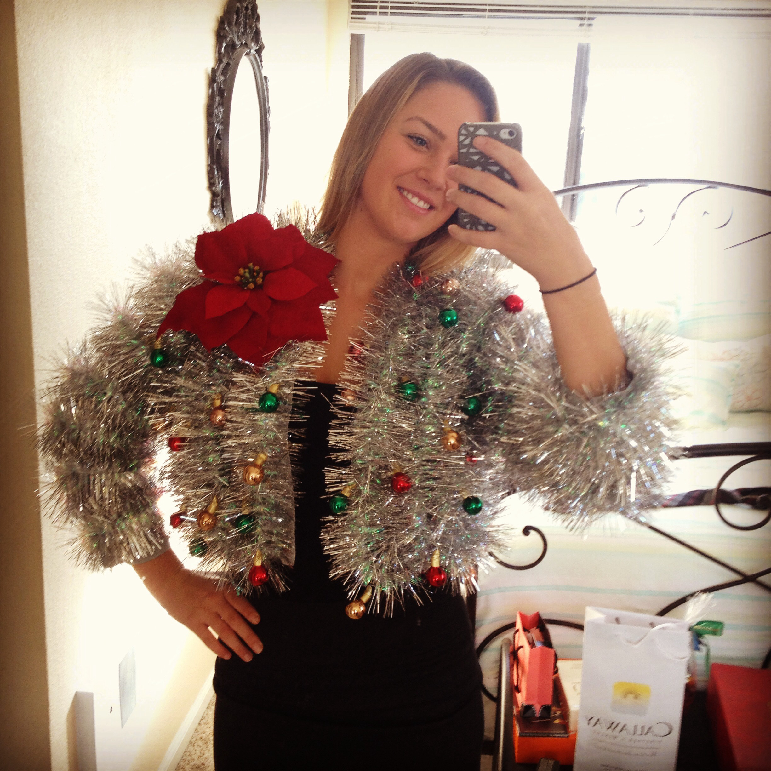 Best ideas about Ugly Christmas Sweater Ideas DIY . Save or Pin 5 Best DIY Ugly Holiday Sweaters – Glam York Now.