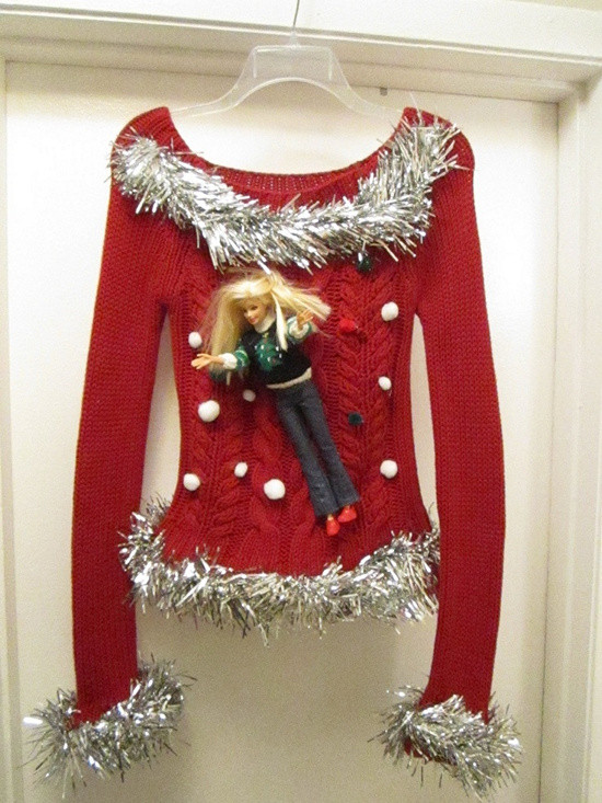 Best ideas about Ugly Christmas Sweater Ideas DIY . Save or Pin EYE CATCHING ATTRACTIVE HANDMADE UGLY SWEATER IDEAS FOR Now.
