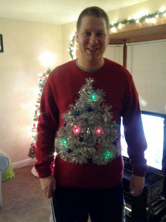 Best ideas about Ugly Christmas Sweater Ideas DIY . Save or Pin 26 Easy DIY Ugly Christmas Sweater Ideas Snappy Now.