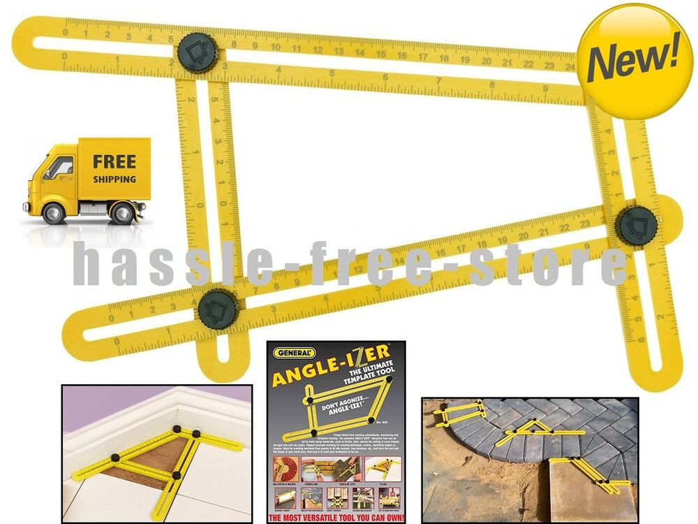 Best ideas about Ultimate 836 Angle-Izer DIY Template Tool . Save or Pin General Tools 836 Angle izer Template Tool Now.