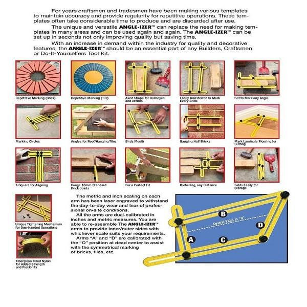 Best ideas about Ultimate 836 Angle-Izer DIY Template Tool . Save or Pin Ultimate 836 Angle izer DIY Template Tool Xeroly Now.