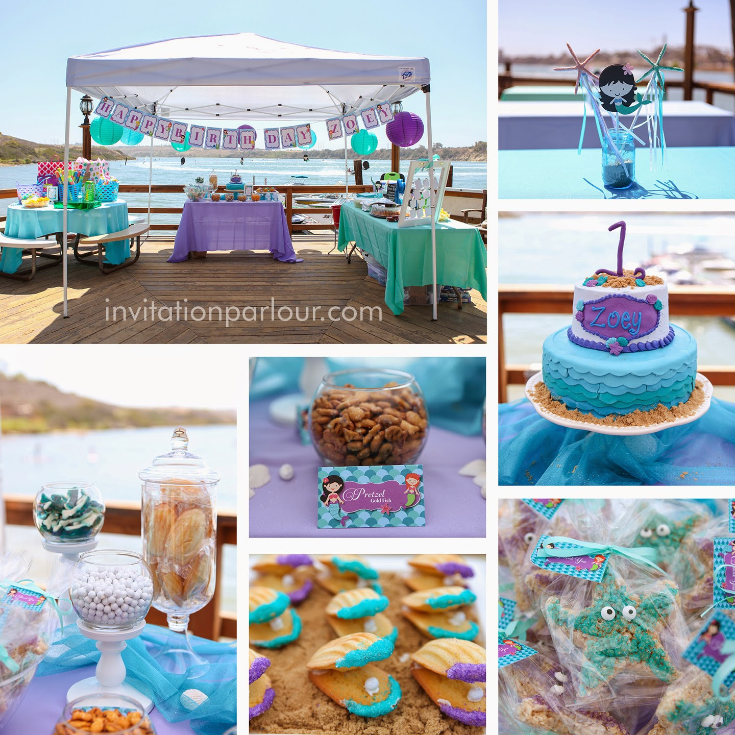 Best ideas about Under The Sea Birthday Party . Save or Pin Invitation Parlour Mermaid Under the Sea Birthday Party Now.