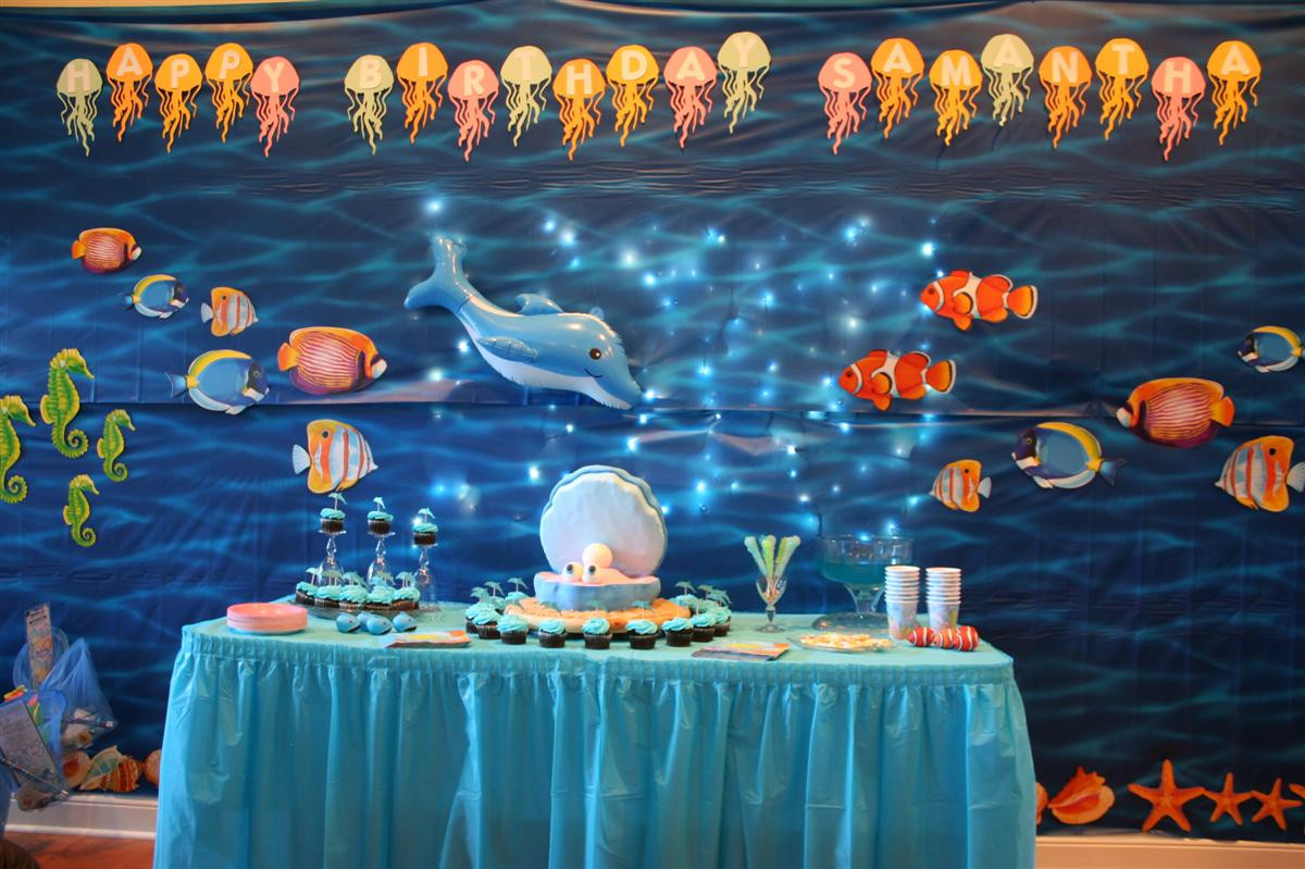Best ideas about Under The Sea Birthday Party . Save or Pin Party Decoration Sandy Party Decorations Now.