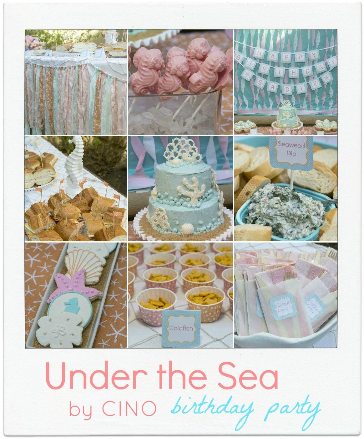 Best ideas about Under The Sea Birthday Party . Save or Pin Sa 's Under the Sea party Now.