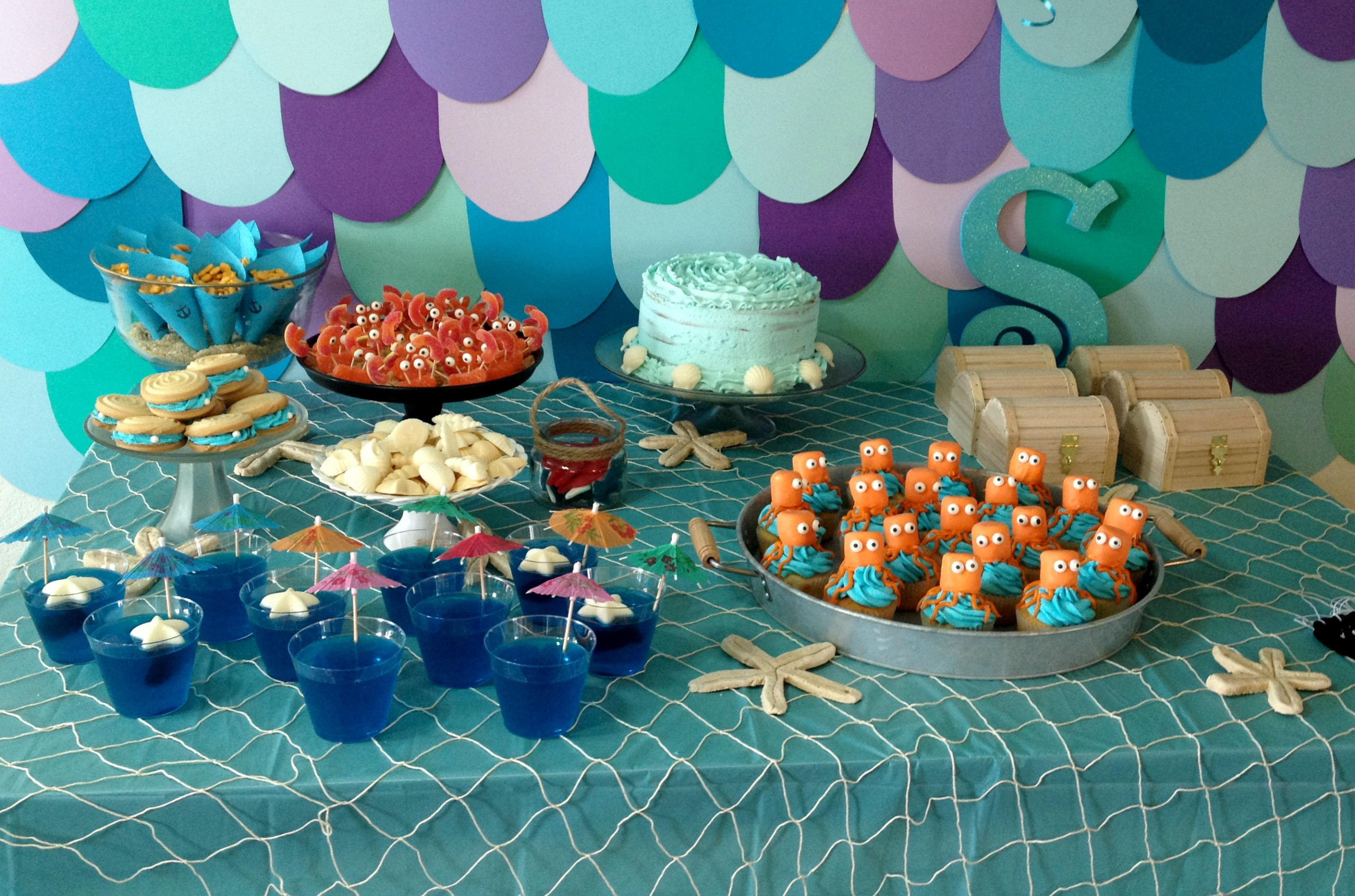 Best ideas about Under The Sea Birthday Party . Save or Pin Under the Sea Party – Somewhere in the Middle Now.
