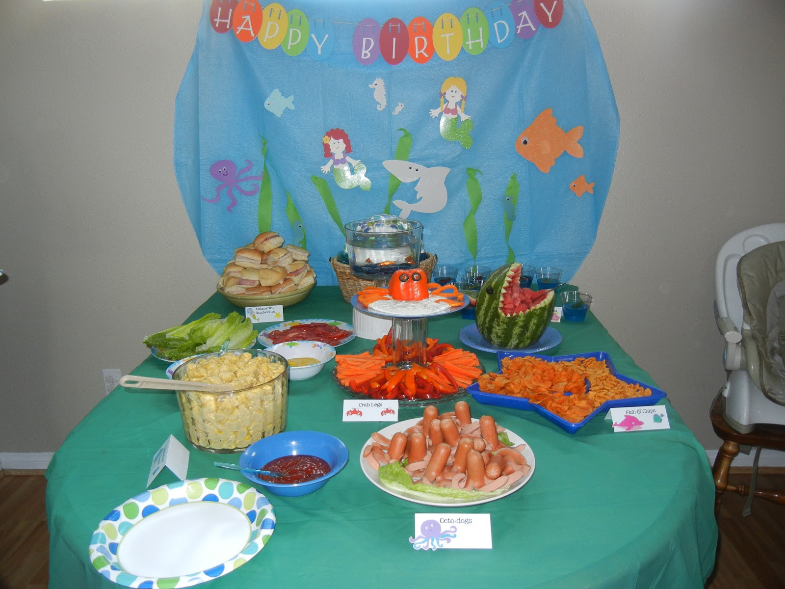 """Best ideas about Under The Sea Birthday Party . Save or Pin Kinsers An """"Under the Sea"""" Birthday Party Now."""