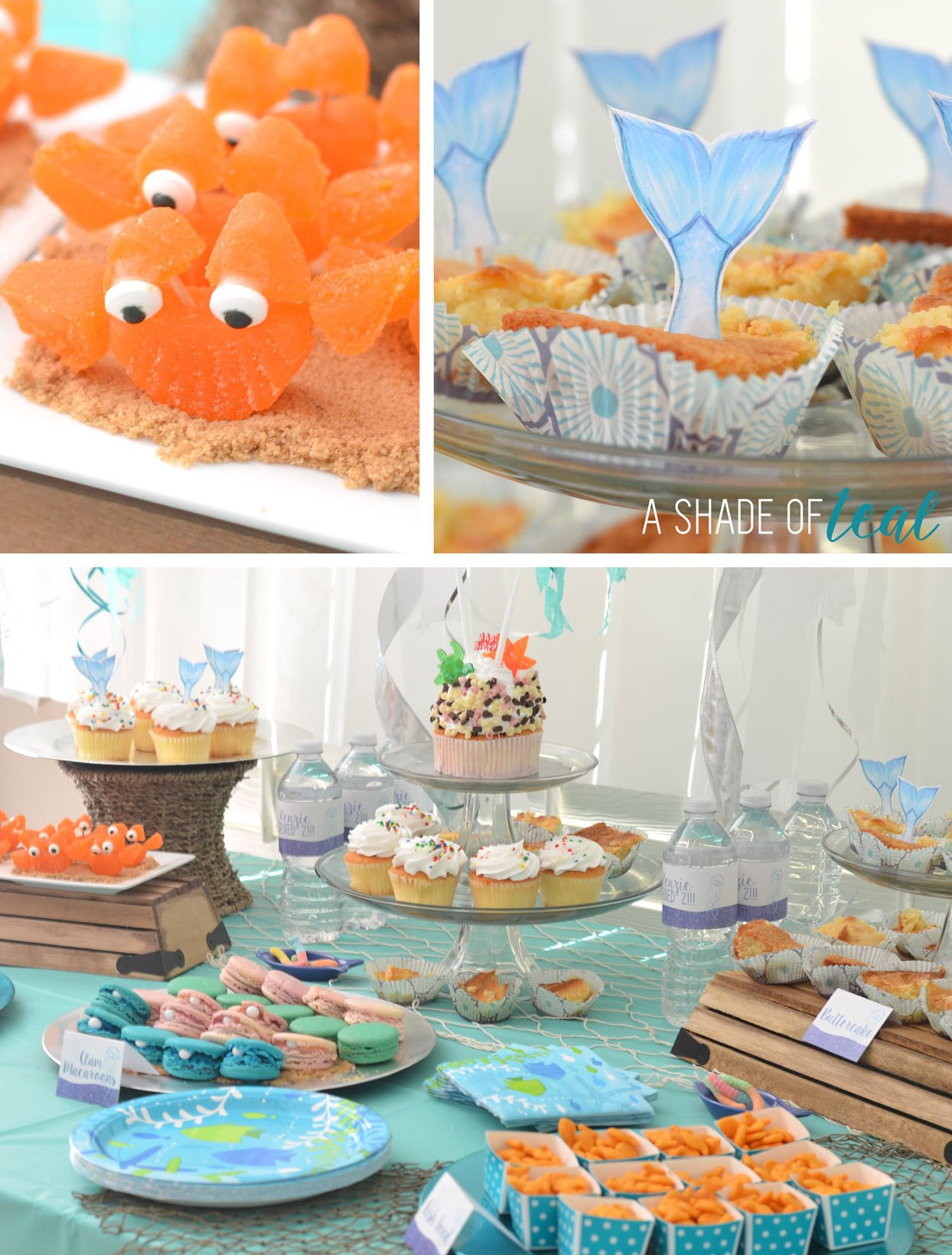 Best ideas about Under The Sea Birthday Party . Save or Pin Under the Sea 2nd Birthday Party Now.