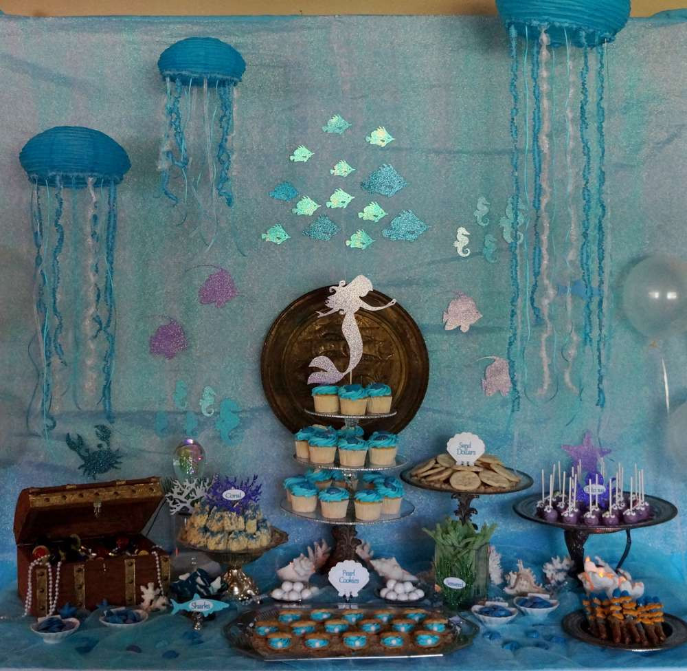 Best ideas about Under The Sea Birthday Party . Save or Pin Under the Sea Mermaid Birthday Party Ideas Now.