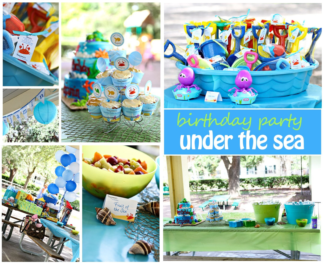 Best ideas about Under The Sea Birthday Party . Save or Pin Under the Sea Birthday Party Now.