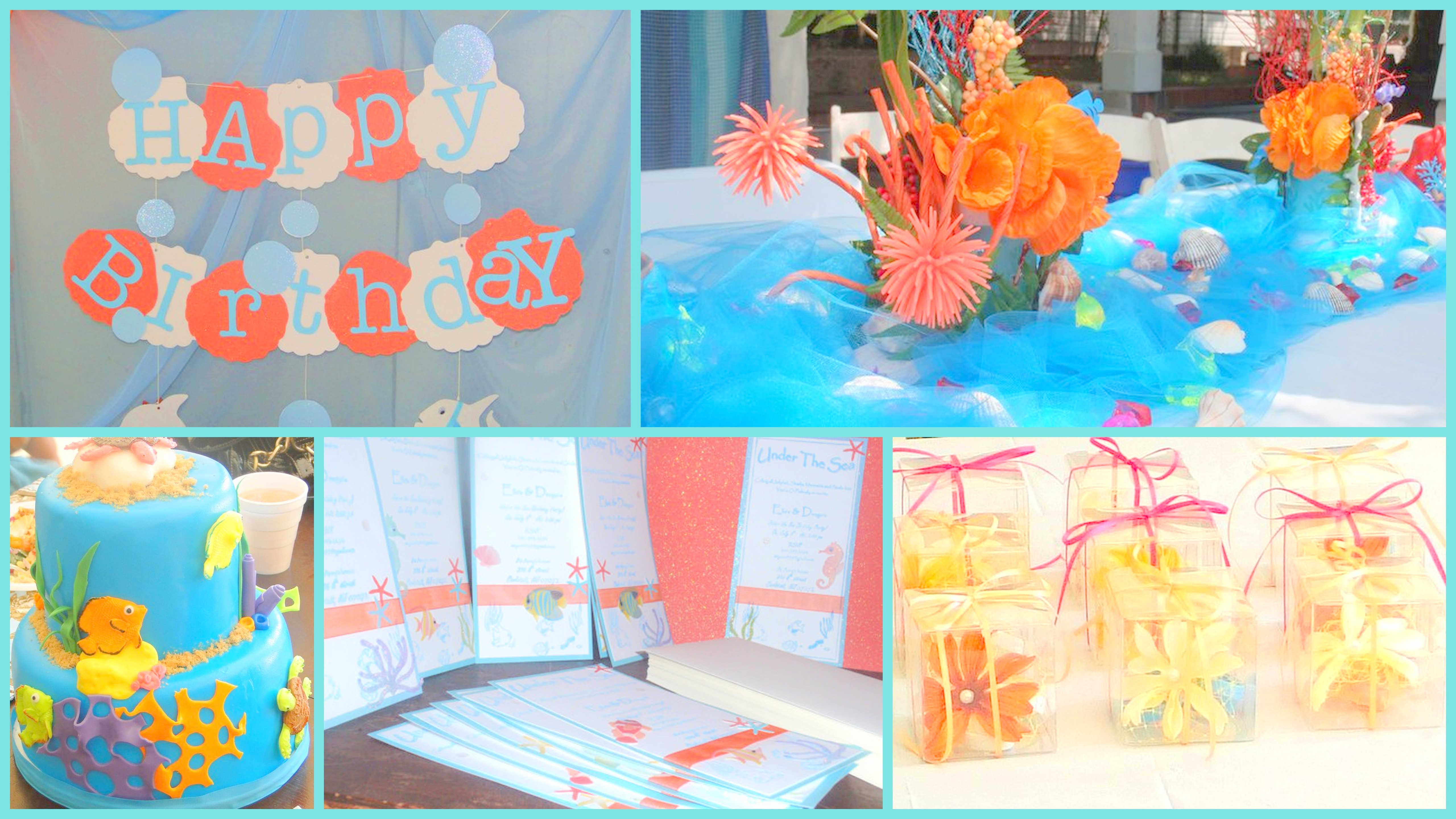Best ideas about Under The Sea Birthday Party . Save or Pin Under The Sea Birthday Party Theme Now.