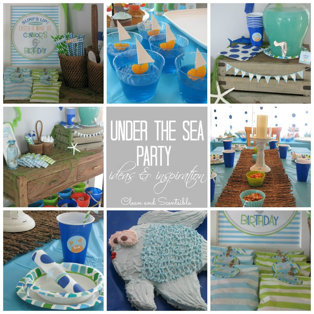 Best ideas about Under The Sea Birthday Party . Save or Pin Dimple Prints Giveaway Clean and Scentsible Now.