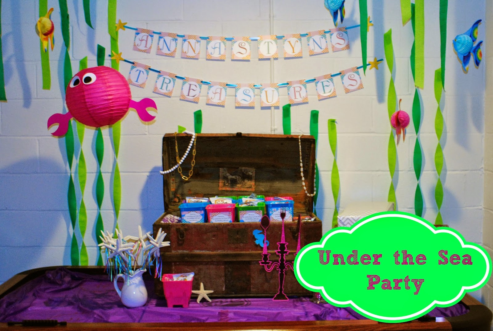 Best ideas about Under The Sea Birthday Party . Save or Pin Our Pinteresting Family Under the Sea Birthday Party Now.
