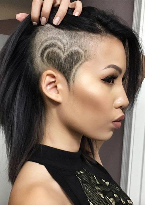 Best ideas about Undercut Haircuts For Women . Save or Pin 51 Long Undercut Hairstyles for Women In 2019 DIY Now.