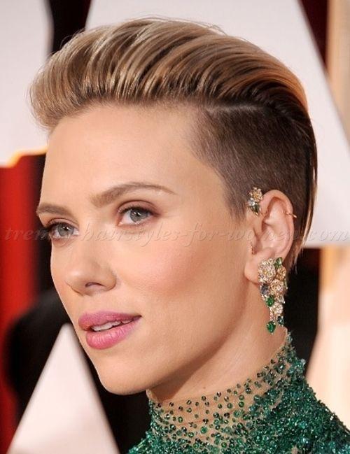 Best ideas about Undercut Hairstyle Female . Save or Pin 1000 ideas about Undercut Hairstyles Women on Pinterest Now.